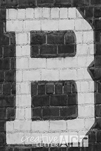 Creative Letter Art� - Letter B - 4 by 6 inch Black and White Industrial Alphabet Photography Collection - Industrial Letter B