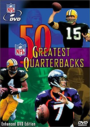 20fcc9ed1 Amazon.com: NFL - 50 Greatest Quarterbacks: John Elway, Brett Favre ...