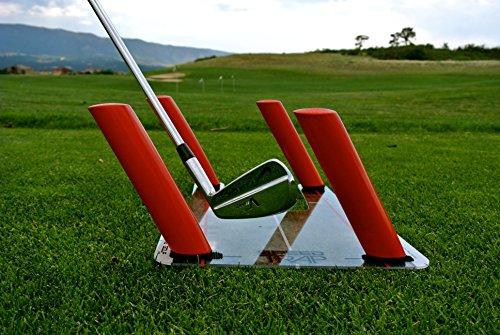 ارخص مكان يبيع EyeLine Golf Speed-Trap Base, 4 Red Speed Rods and Carry Bag; Shape Shots and Eliminate a Slice or Hook - Made in USA, 12