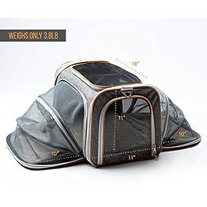 45c23763cf PETYELLA Airline Approved Pet Carrier + Fleece Blanket & Bowl - 100%  Lifetime Satisfaction 9