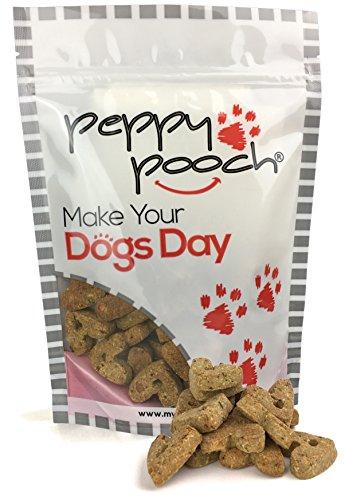 Peppy Pooch Grain Free Oven Baked Dog Biscuits. Roast Duck Flavor. 14oz. Bag.