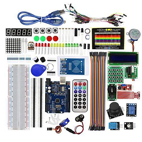 Libertroy Super Starter Learning Kit (NO UNOR3 Board) for Arduino Programming Education Kit