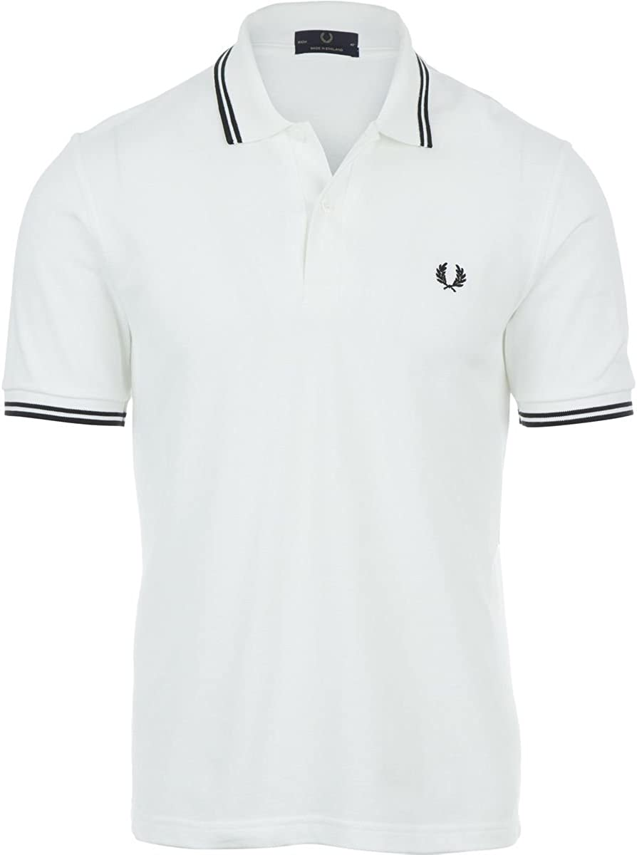 Fred Perry Estados Unidos Original con Punta Doble – Polo Hombre ...