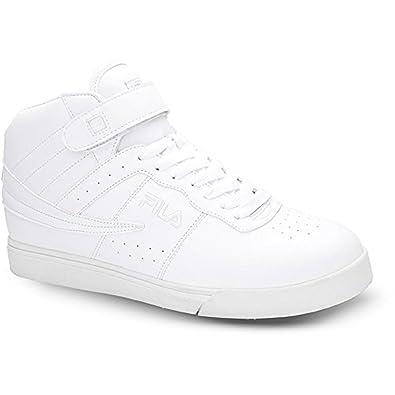 Synthetic11 Vulc Fashion SneakersWhite Fila Men's M High Strap 5 13 Top uOkZPXi