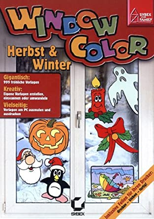 Window Color Herbst Winter Amazon De Software