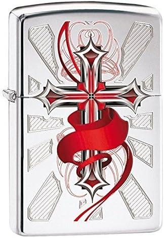 Zippo 28526 Cross with Wings USA/純正/アメリカ版製ライター [並行輸入品]