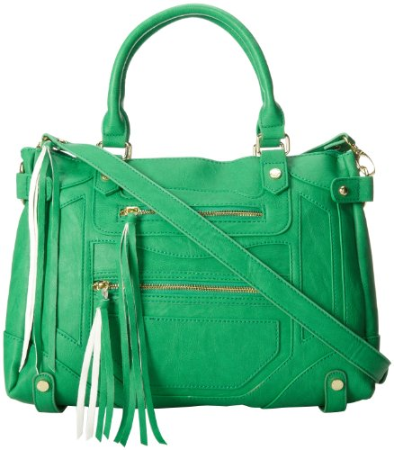Steve Madden Btalia Top Handle Bag,Emerald,One Size, Bags Central