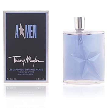 907a088cb6 Amazon.com : Angel Men Eau De Toilette Spray, Refill by Thierry Mugler, 3.4  Ounce : Beauty