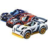 Modarri 3 Pack Toy Car Vehicle Set by Thoughtfull Toys - Ultimate Car Toys For Kids Includes 3 Cars (S1 Street, T1 Track, X1 Dirt), 9 Safety Cones, 3 Hex Tools - 35,000 Different Die-Cast Model Combinations