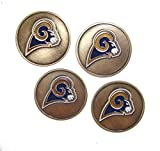Los Angeles (LA) Rams Golf Ball Markers (Set of 4)
