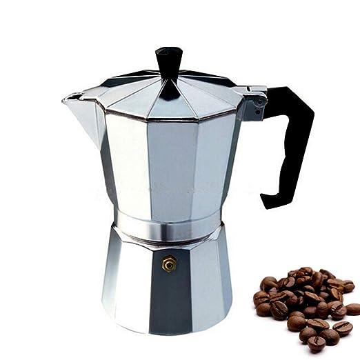 Milky House cafetera para espresso Moka Pot Cafetera Stovetop ...