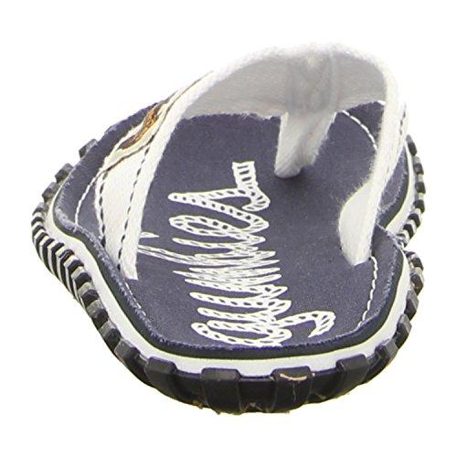 Gumbies Islanders Adulto Sandali Infradito Scarpe Da Spiaggia Numero eu 36 - 12 UK - Blu, 40 EU