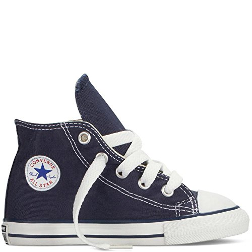 Converse Baby Shoes/or high Sneakers 7J233C INF C/T BLU Size 25 Blue ()