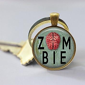 Joyería Tycoon® Zombie clave cadena cerebro humano Walking ...