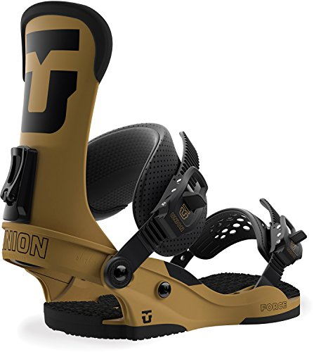 Union Force Snowboard Bindings Sand Mens Sz L (10+) (Bindings Ltd)