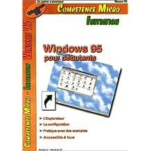 WINDOWS 95 POUR DBUTANTS