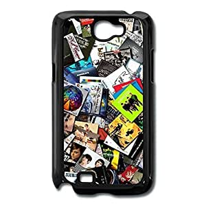 Galaxy Note 2 Cases Magazine Design Hard Back Cover Proctector Desgined By RRG2G