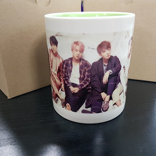 BTS Bangtan Boys WINGS Mug Cup Ceramic
