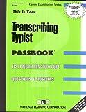Transcribing Typist, Jack Rudman, 0837308186