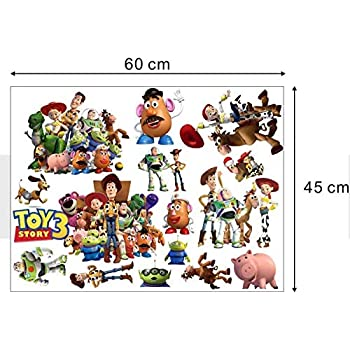 Amazon Com Roommates Toy Story 3 Glow In The Dark Peel And Stick Wall Decals Home Improvement