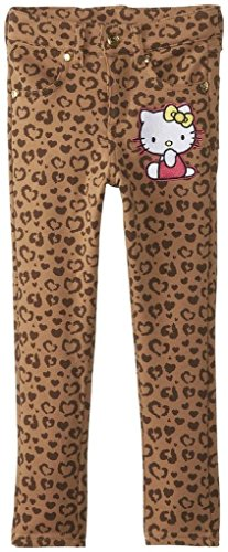 Hello Kitty Printed Denim Skinny Jeans Mellow Buff
