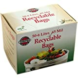 Norpro Recyclable Bags, 50 Pieces