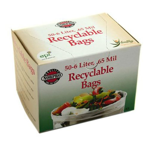 Norpro Recyclable Bags, 50 Pieces ()
