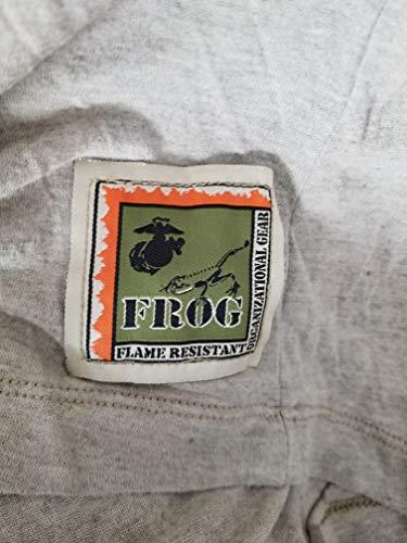 Genuine Mens Shirt - Genuine Issue USMC Desert Marpat Frog Combat Shirt (Large)