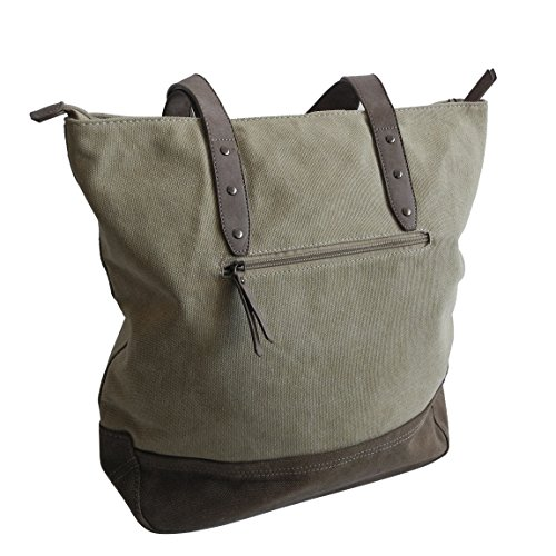 Jennifer Jones - Bolso al hombro para mujer multicolor multicolor, Oliv Flecktarn (verde) - 0 naturaleza