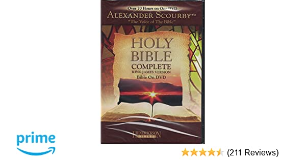 Amazon Holy Bible Complete King James Version Bible On Dvd