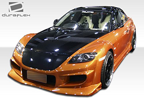 2 Piece Extreme Dimensions Duraflex Replacement for 2004-2011 Mazda RX-8 Vader Side Skirts Rocker Panels