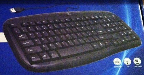 Onn Soft-Touch Keyboard Black LK6400