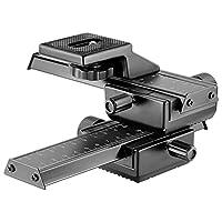 Neewer Pro - Cámara de cámara réflex digital de 4 vías con enfoque macro y enfoque macro para Canon Nikon, Pentax, Olympus, Sony, Samsung y otras cámaras digitales SLR y CC con orificio de tornillo estándar de 1/4 pulg.