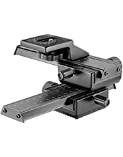 Neewer Pro 4-Way Macro Focusing Focus Rail Slider/Close-Up Shooting for Canon Nikon, Pentax, Olympus, Sony, Samsung and Other Digital SLR Camera and DC with Standard 1/4-Inch Screw Hole