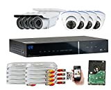 GW Security 1080P HD Over Analog (HD-AHD) 8CH Video Security Camera System – Eight 2.1 MP Sony Cmos Weatherproof Bullet & Dome Cameras, Realtime Recording 1080p @ 30fps, Pre-Installed 2TB HD Review