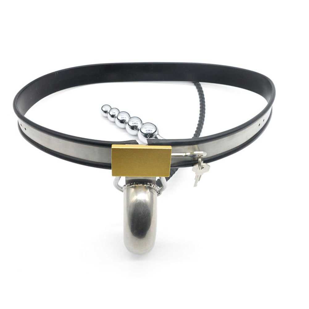 YiFeng Stainless Steel Full Male Men Chastity Belt Device Underwear Bondage Fetish ZCK8 by YiFeng
