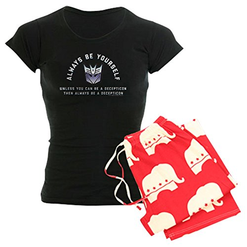 CafePress Transformers Always Be A Dec Womens Novelty Cotton Pajama Set, Comfortable PJ Sleepwear ()