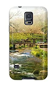 Awesome Chinese Flip Case With Fashion Design For Galaxy S5