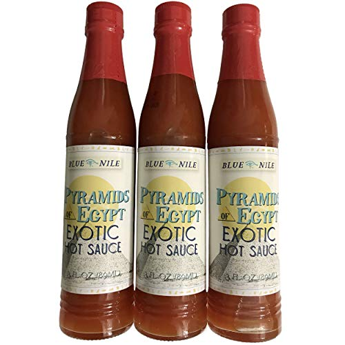 Price comparison product image Blue Nile Pyramids of Egypt Hot Sauce 3 pack