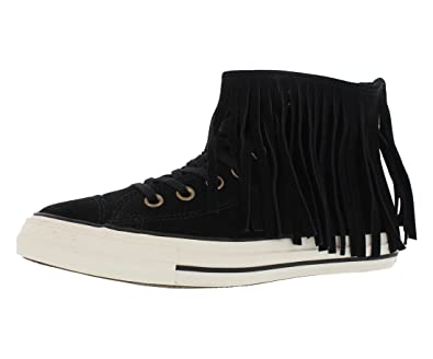 0cdfcf7ea79c7 Converse - Converse All Star Ctas Fringe Suede Chaussures Femme Cuir Noir   Amazon.fr  Chaussures et Sacs