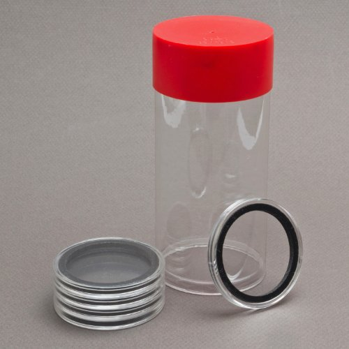 (1) Airtite Coin Holder Storage Container & (5) Air-tite ...
