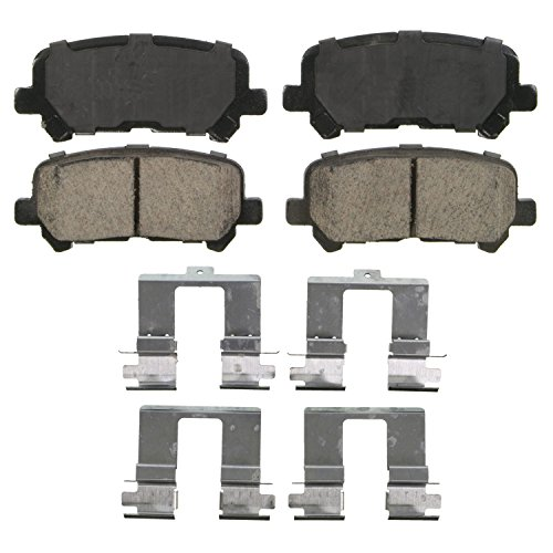Wagner QuickStop ZD1281 Ceramic Disc Pad Set, Rear (Honda Odyssey Rear Brake)
