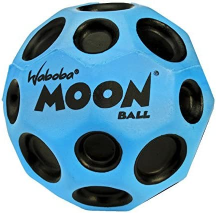Waboba Pelota de rebote de la luna Azul: Amazon.es: Juguetes y juegos