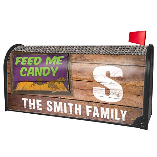 NEONBLOND Custom Mailbox Cover Feed Me Candy Halloween