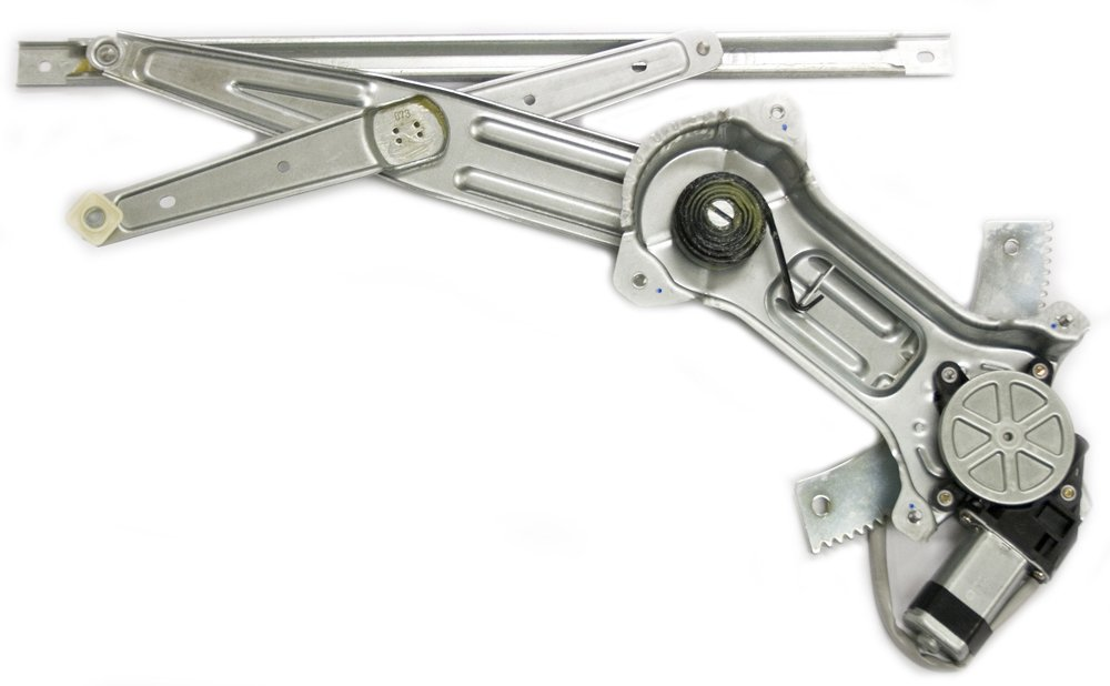 IPCW WR-FD0617FM2 Front Right Side//Passenger Side Replacement Power Window Regulator with Motor