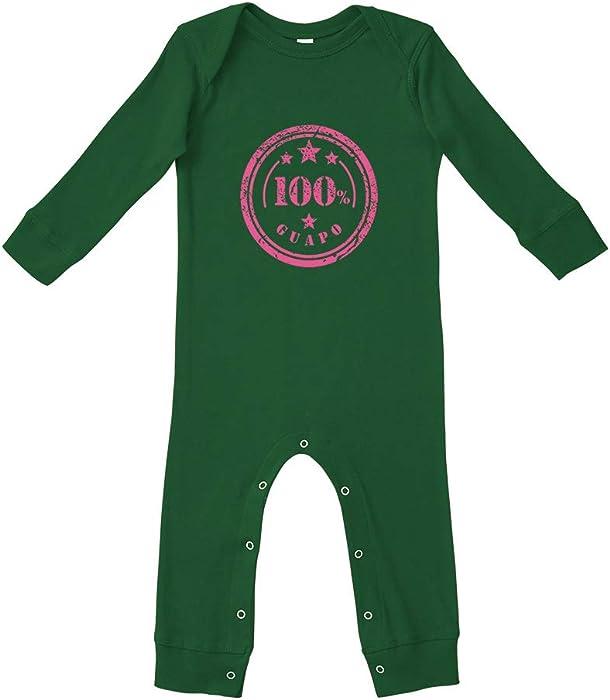 Amazon Com 100 Guapo Cotton Long Sleeve Envelope Neck Baby