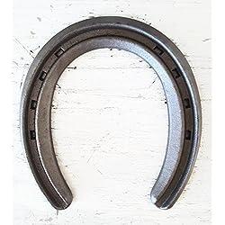 The Heritage Forge - 20 Horseshoes - Lite Rim - Sand Blasted Steel OO