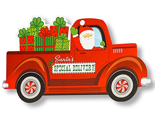 Santa's Special Delivery Theme Gift (6 Pack ) 3-3/4x2-3/4'' by Nas