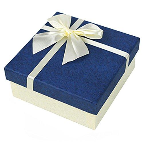 Dekorative Geschenkverpackung Geschenkpapier Bevorzugungs-Kästen, blau
