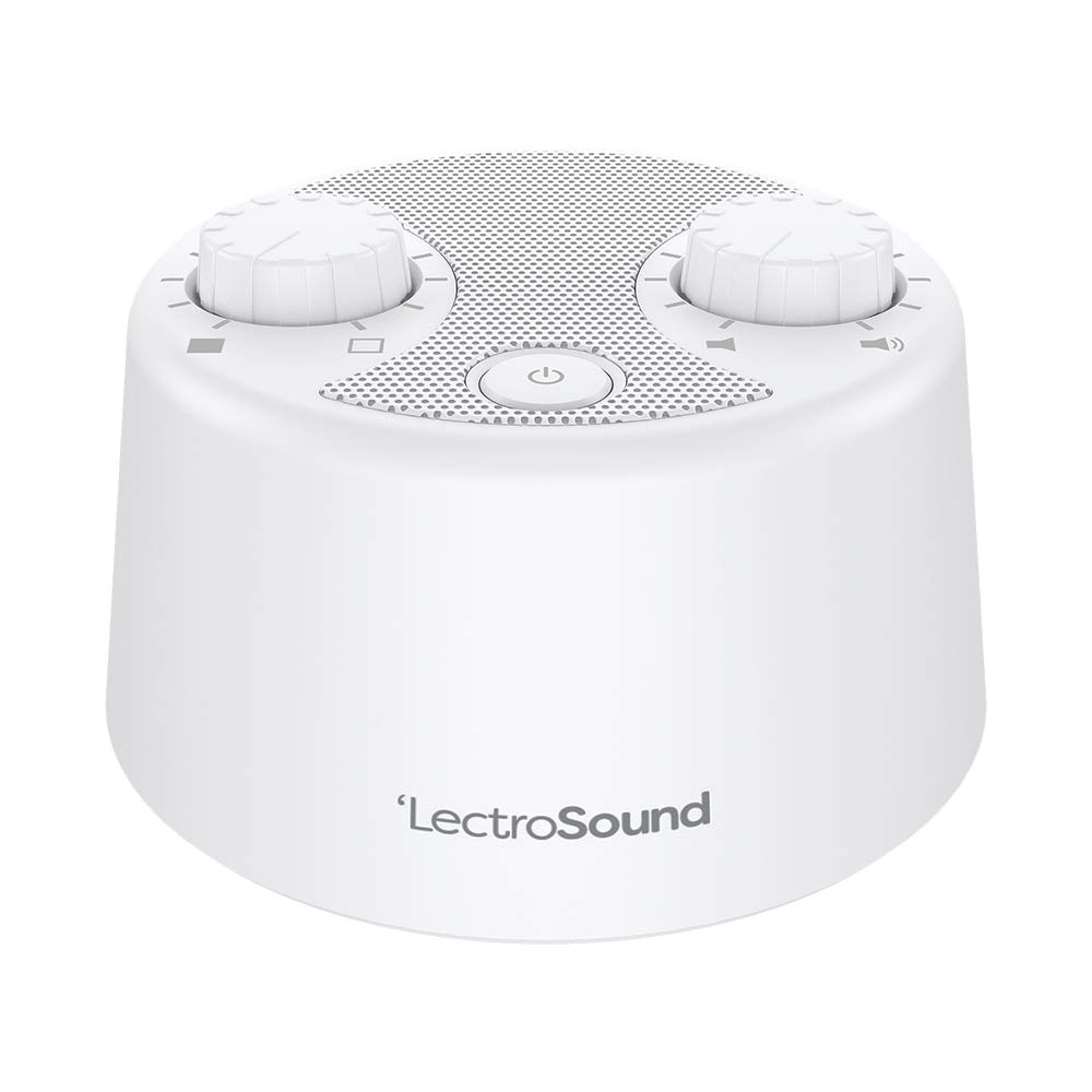 LectroSound White Noise Machine for Sleep and Relaxation by Adaptive Sound Technologies